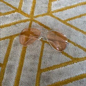 Pink RayBan glasses